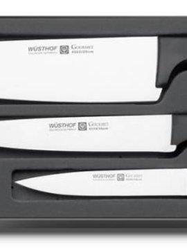 WUSTHOF Ensemble de couteaux GOURMET 3 pièces - 9675