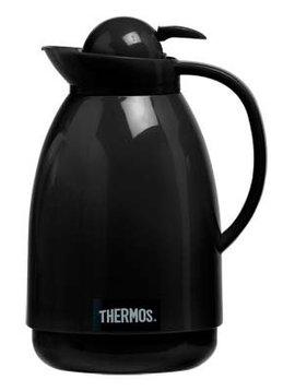 Thermos Black Push/milan Karaffe 1l Schwarz