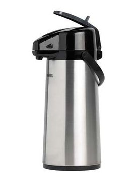 Thermos Pumpthermos 2,2l Matt Rostfr Stahl+hebel20x15x38cm - 2kg