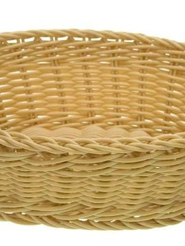 Cosy & Trendy For Professionals Ct Prof Basket Natural 25x20xh7,5cm Oval Plastic set of 6