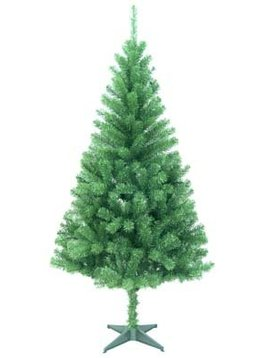 "Cosy @ Home Canadian Pine Tree 1,5m 320tips Dia81cmround Tips 2,5"" 0,07/0,07 Plastic Stand"