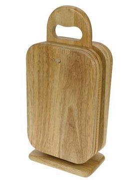 Cosy & Trendy Bread Board Set6 W. Support15x9xh32cm