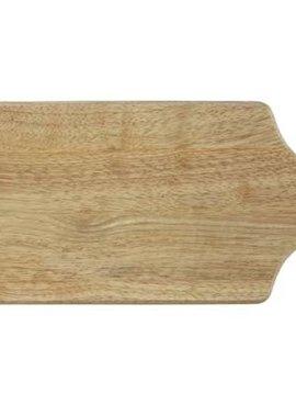 CT Ct Bread Board 37x16xh1,5cmrubberwood