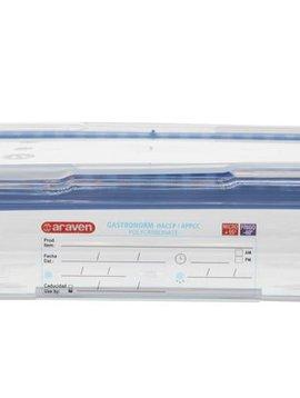 Araven Foodbox M.airtight Deksel Gn1-6 Transparant 1,1l 65mm