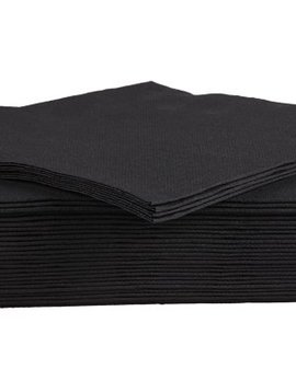 Cosy & Trendy For Professionals Ct Prof Napkin Tt S40 38x38cm Blackpaper Textile-touch