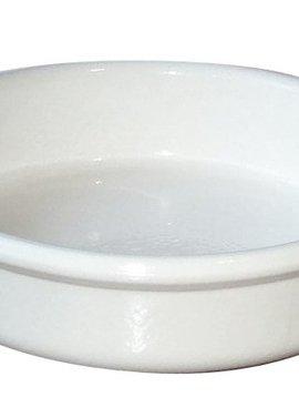 Regas White Creme Brulee D14-h3.5cm