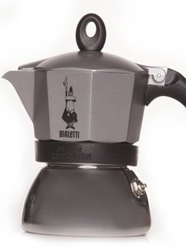 Bialetti Moka Induction Cafetiere 3t - Anthr.all Hobs