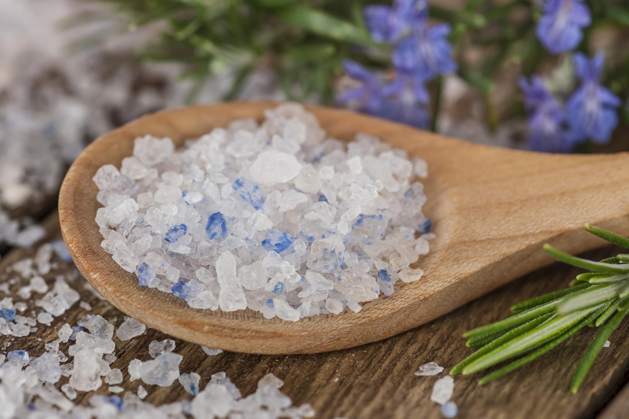 sel bleu persan