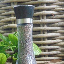 """Black Himalayan Salt """"Kala Namak"""" Salt grinder 180g"""