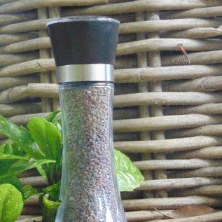 """NATURAL BIO STORE FINEST SELECTION Black Himalayan Salt """"Kala Namak"""" 180g Salt grinder"""