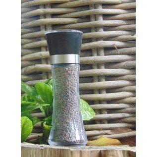 NATURAL BIO STORE FINEST SELECTION Black Himalayan Salt 180g Salt grinder