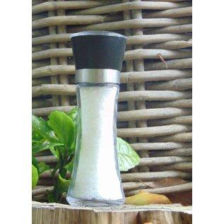 NATURAL BIO STORE FINEST SELECTION Kalahari Desert salt glass salt grinder 180 grams