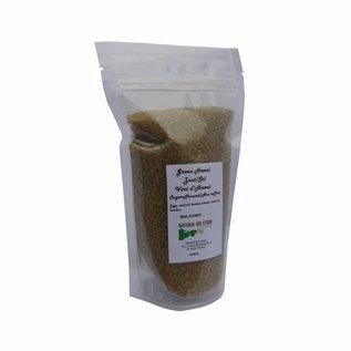 NATURAL BIO STORE Finest Selection Green Hawaiian Salt 395 grams (resealable bag)