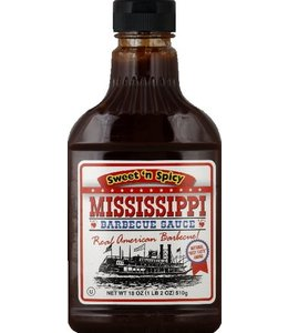 Mississippi Barbecue Saus Sweet 'n' Spicy
