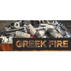 Greek Fire Geperste zeskantige houtskool.