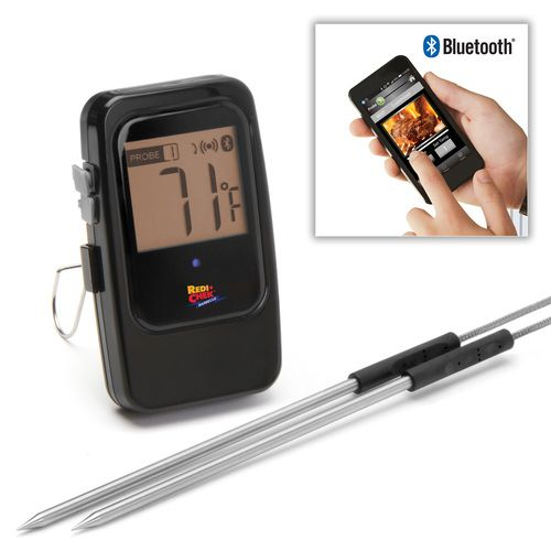wireless meat thermometer iphone maverick model et 735 bluetooth barbecue thermometer meerbbq 9093