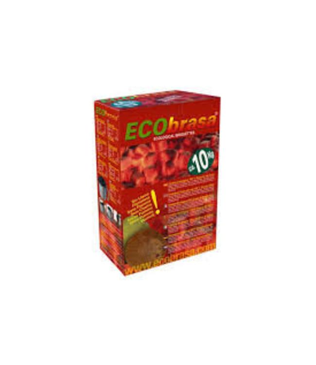 Ecobrasa Ecobrasa kokos briketten