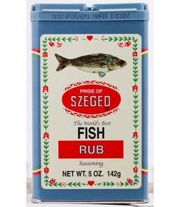 Szeged Fish Rub - vis kruiden