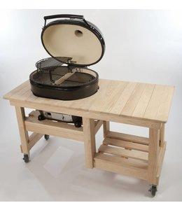 Primo Grill Ovaal Large met countertop Tafel voordeel pakket