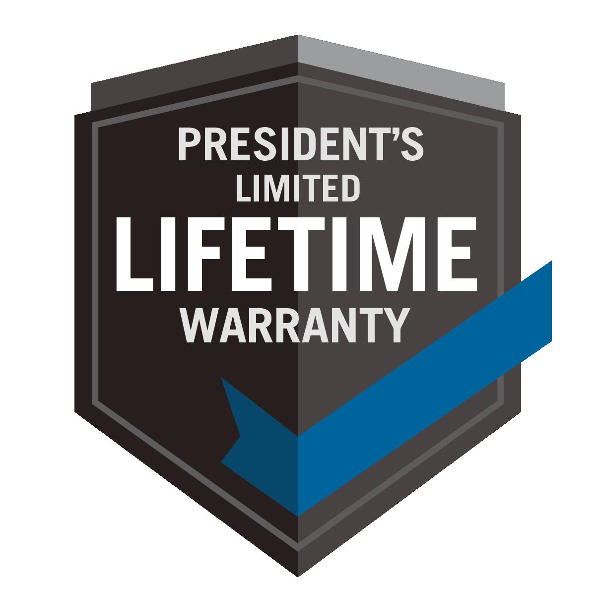 President's Limited Lifetime Warranty Voor PRESTIGE®/PRO™