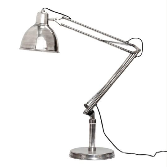 Hubsch Tafellamp Antiek Zilver
