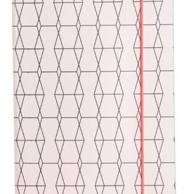 House Doctor Notebook Geometrisch Roze