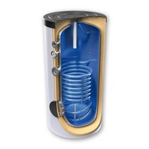 Boilervat 200 liter, indirect gestookt, met 1 warmtewisselaar