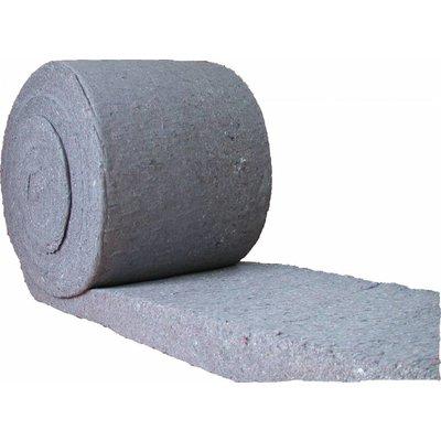Thermisch  Métisse isolatie 20 kg/m3 van 100 mm dik , rol (4,8 m2).