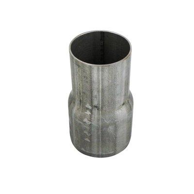 Metalen verloopstuk 3'' naar 2,5''. (73 mm naar 60 mm)