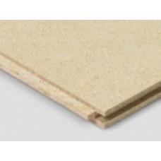 Cement gebonden spaanplaat, 25 mm dik.