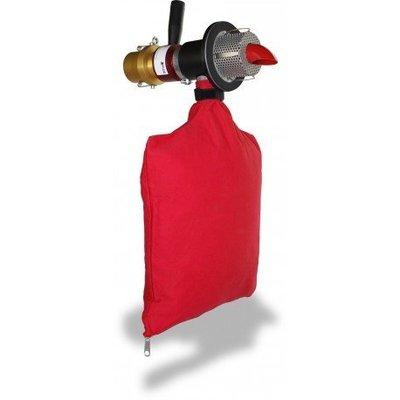 """Geventileerde roterende nozzle voor 63 mm (2,5 """") diameter slang, boormaat 85 mm."""