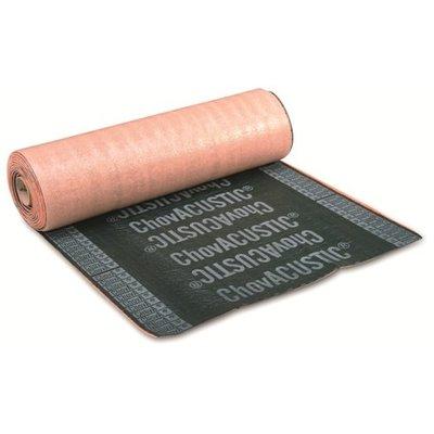 Contactgeluid dempende ondervloer TriACUSTIC® 35. Rol 8 x 1 meter.