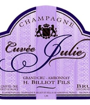 H. Billiot Cuvée Julie