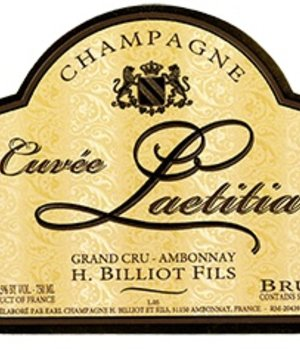 H. Billiot Cuvée Laetitia