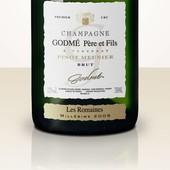 Godmé Pere & Fils Brut 2005 Les Romaines Blanc de Noirs Pinot Meunier 1er Cru