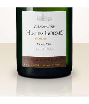 Hugues Godmé Extra Brut Pinot Noir Grand Cru Les Champs Saint Martin 2005