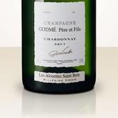 Hugues Godmé Extra Brut Chardonnay 1er Cru Les Alouettes Saint Bets 2008