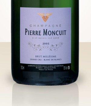 Pierre Moncuit Millésime 2005 Grand Cru Blanc de Blancs non dosé