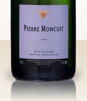 Pierre Moncuit Millesime 2004 Blanc de Blancs Grand Cru Brut