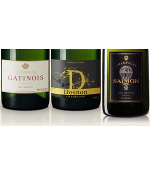 Pakete Champagne and Beef - 3 bottles