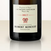 Robert Moncuit Blanc de Blancs Brut Jeroboam in wooden box