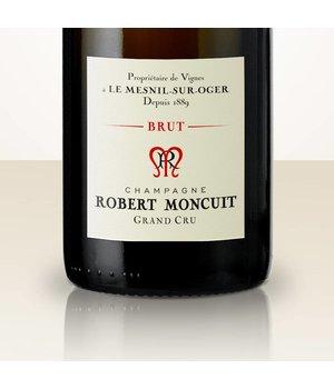 Robert Moncuit Blanc de Blancs Brut Jeroboam in wooden box
