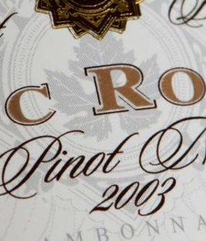 Eric Rodez Empreinte de Terroir Pinot Noir 2003 - in wooden box