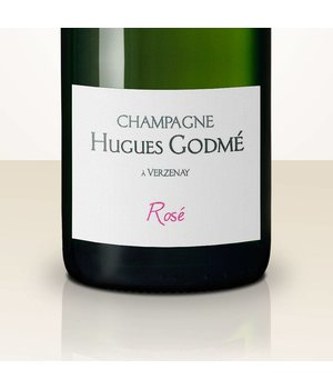Hugues Godmé Brut Rosé Grand Cru DEMI
