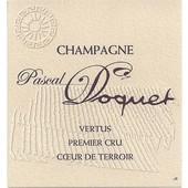 Pascal Doquet Vertus Brut 1er Cru blanc de blancs 2004