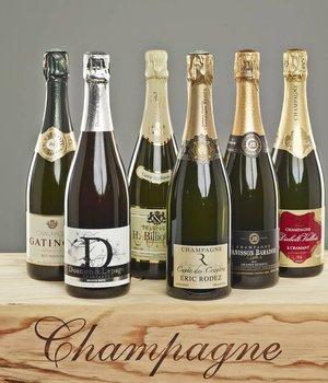 Probierpaket Die besten Basis Champagner