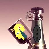 Präsente Champagne Fresh Champagne Verschluss