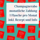 Präsente Champagne Subscription - 1 bottle per months - monthly payment
