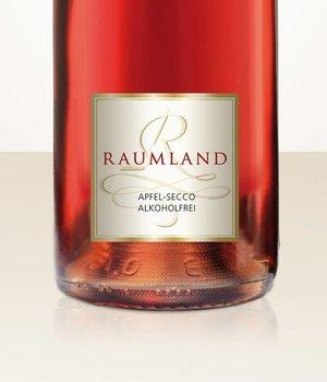 Raumland Alkoholfreier Secco von rotfleischigen Wildäpfeln