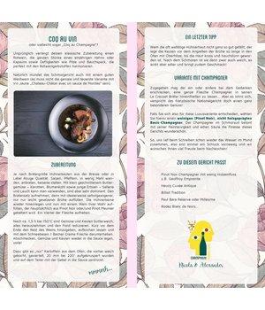 Rezeptkarte zum Sammeln Coq au Vin
